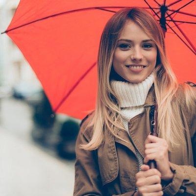 Stevige paraplu